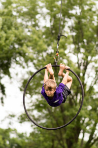 Rings is one elective summer camp activities