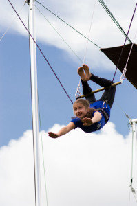Circus Arts in one elective summer camp actiivities