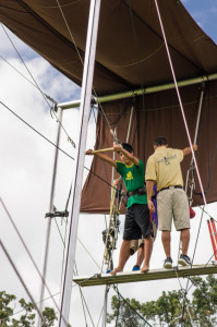 Circus program of the coolest summer camp in Minnesota