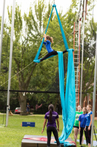 Silks is one elective summer camp activities
