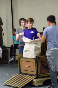 Day Kid's Camp in Owatonna campers showing off magic skills learned