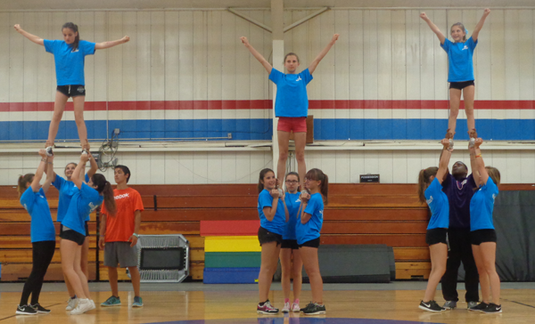Cheerleading and Gymnastics Summer Camp - Triple Pyramid