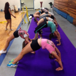Cheerleading and Gymnastics Summer Camp - back strenghting skills