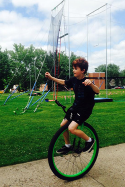 Circus Summer Camp - Unicycle