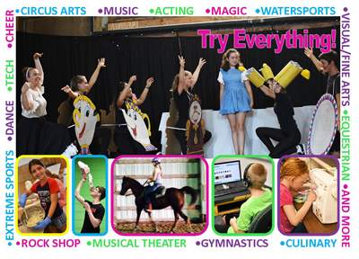 Collage of Activities - Summer Camp for Kids