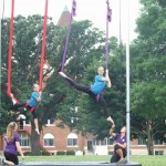 Campers learning Silks at Summer Camp in Owatonna