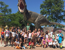 Campers Enjoying Minnesota Summer Camp Adventure Day