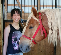 Equestrian Summer Camp - Horse and Camper Bonding