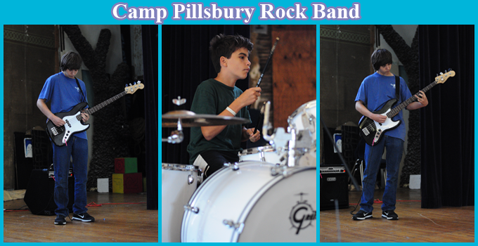 Rock Band Summer Camp Collage
