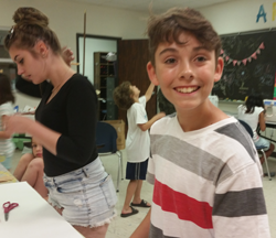 Visual and Fine Arts Summer Camp - Boy Enjoying Creating Art