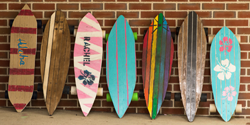 Visual and Fine Arts Summer Camp - Final Skateboard projects