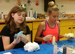 Visual and Fine Arts Summer Camp - Girls Getting Creative