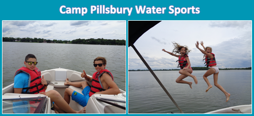 Water Sports Summer Camp Collage